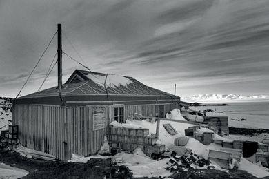 Shackleton's historic base at Cape Royds, Ross Island.