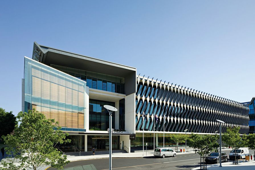ABC Brisbane headquarters by Richard Kirk Architect.