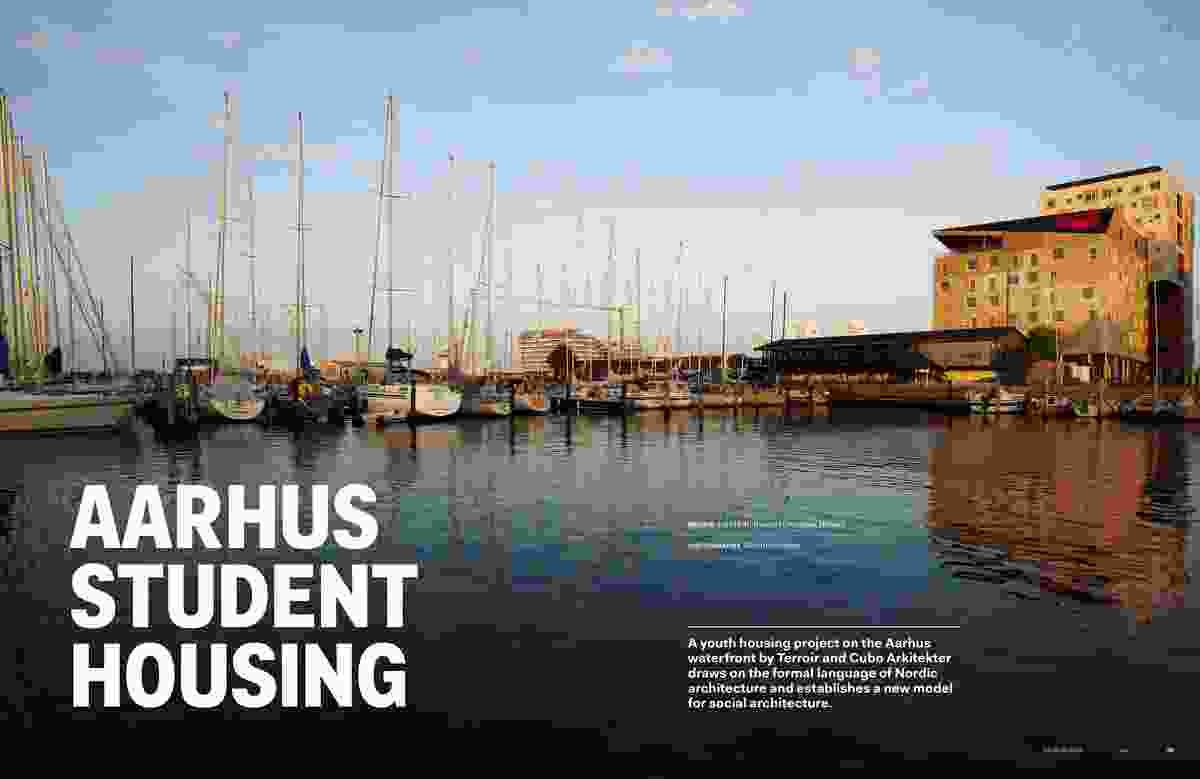 Aarhus Student Housing by Terroir and Cubo Arkitekter.