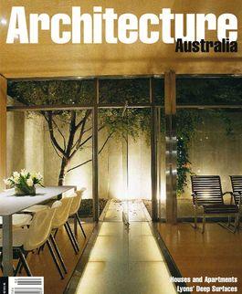 Architecture Australia, March 2000
