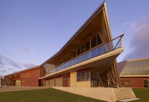 The Devonport Surf Life Saving Club by Jaws Architects.