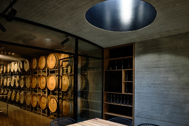 TarraWarra Cellar Door by Kerstin Thompson Architects.