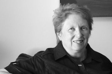 Louise Cox, a past president of the UIA; adjunct professor of architecture at UNSW.