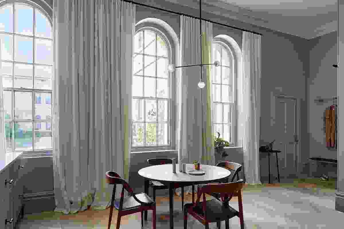 Kew Apartment by Sarah Wolfendale Interior Design.