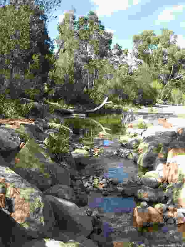 Paperbark creek provides children a dynamic landscape, while adhering to water sustainability principles.