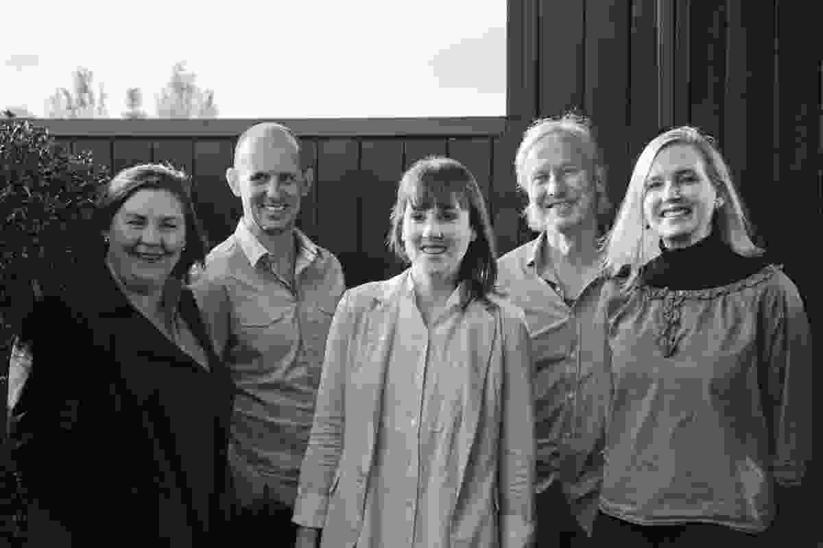 The 2013 Houses Awards jury (from left) Debbie Ryan, Jon Clements, Katelin Butler, Peter Stutchbury and Alice Hampson.