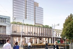 Crone's terraced Parramatta tower approved