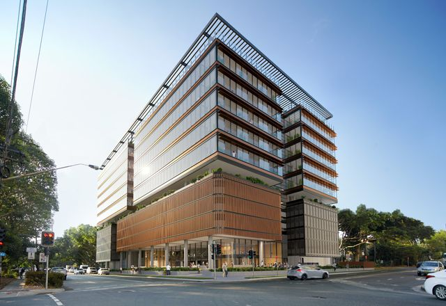 The 50 Kent Road building in Mascot, Sydney, designed by Sissons Architects.