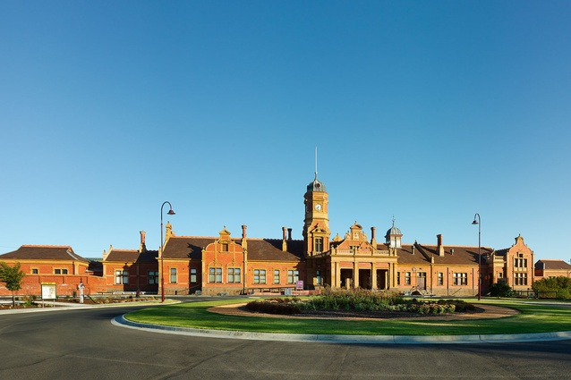 Maryborough Railway Station Conservation works by RBA Architects + Conservation Consultants.