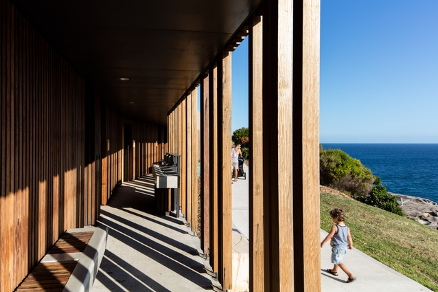 Marks Park Amenities by Sam Crawford Architects.