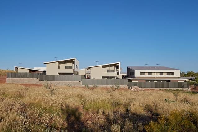 Roebourne Police Housing by Iredale Pedersen Hook Architects.