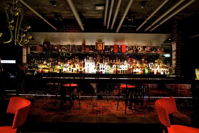 The Atlantic Restaurant and Den lounge bar, Crown Casino – Blackmilk Interior Design