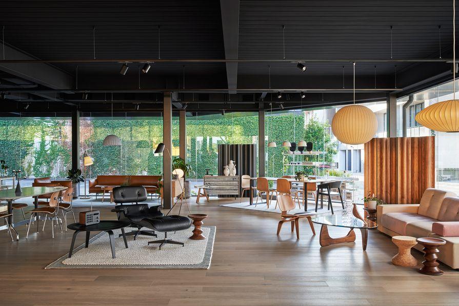 Living Edge's Melbourne flagship showroom by Bates Smart.