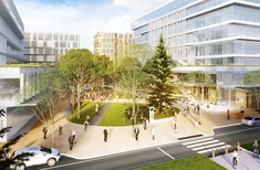 Cox Architecture designs concept plan for new University of Newcastle campus