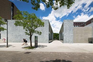 Facet Studio's Doshisya Kyotonabe Chapel, Kyoto, Japan.