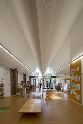 St Columba's Catholic Primary School by Neeson Murcutt Architects.