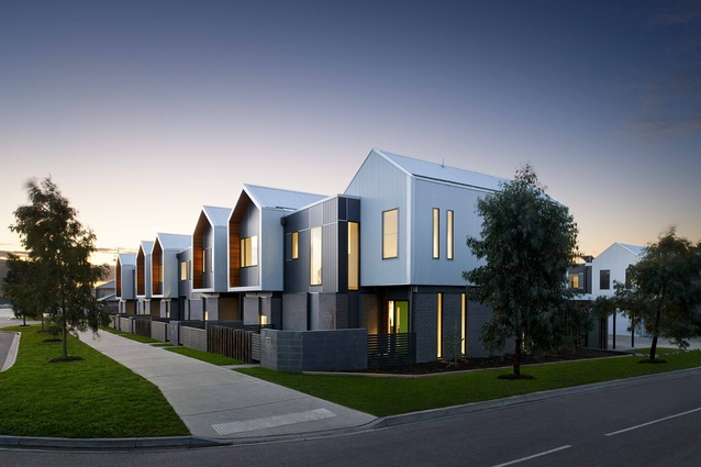 Alarah Townhouses by SJB Architects.
