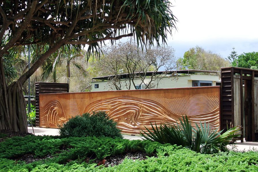 2013 Commercial Exterior Award winner: Coolum Beach Streetscaping Project by Carl Holder, product designer / urban artist.