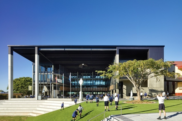 St. John's Nudgee College D.J. Hanley Learning Centre by M3 Architecture.