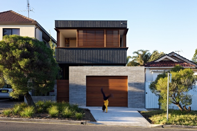 Bondi House by Andrew Burges Architects.