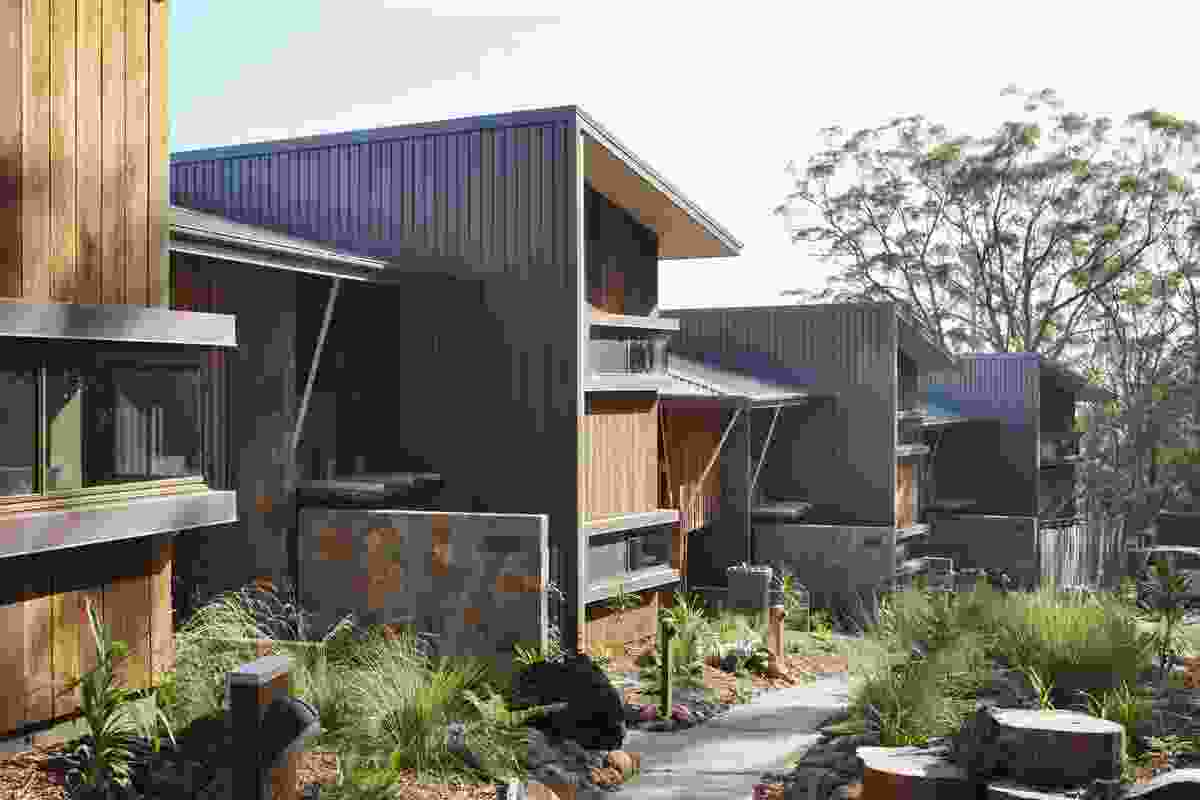 Binna Burra Sky Lodges by dm2architecture.