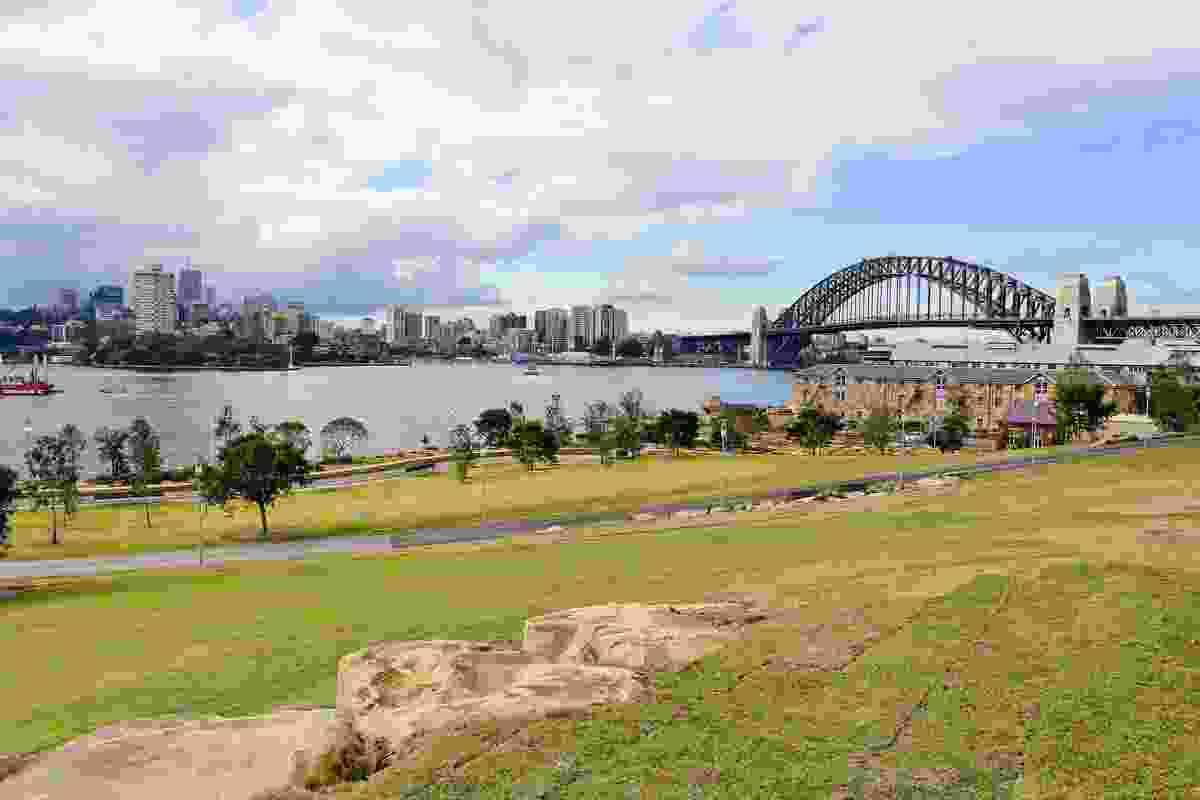 Around 75,000 native Sydney plants were used in the park's creation.
