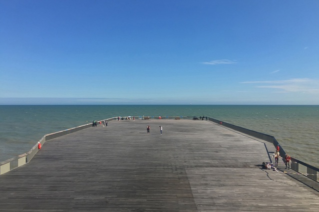 Hastings Pier by DRMM offers uninterrupted vistas of the surrounding natural and built environment.