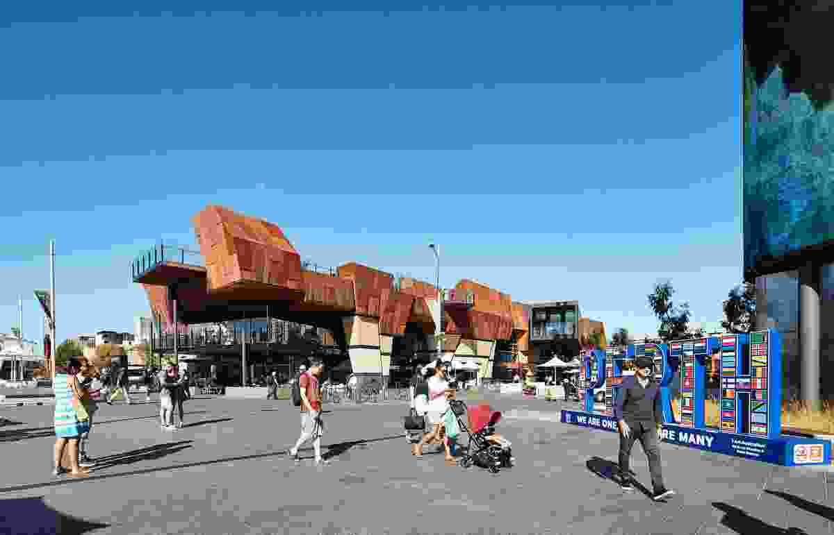 Yagan Square by Lyons in association with Iredale Pedersen Hook and landscape architects Aspect Studios.