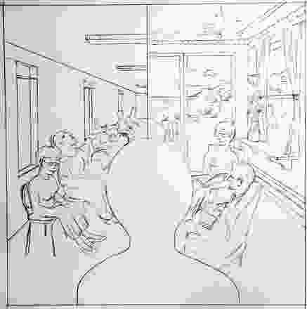 养老机构可以是机构式的(左),也可以是居住式的(右),这都是他们设计的重点问题。