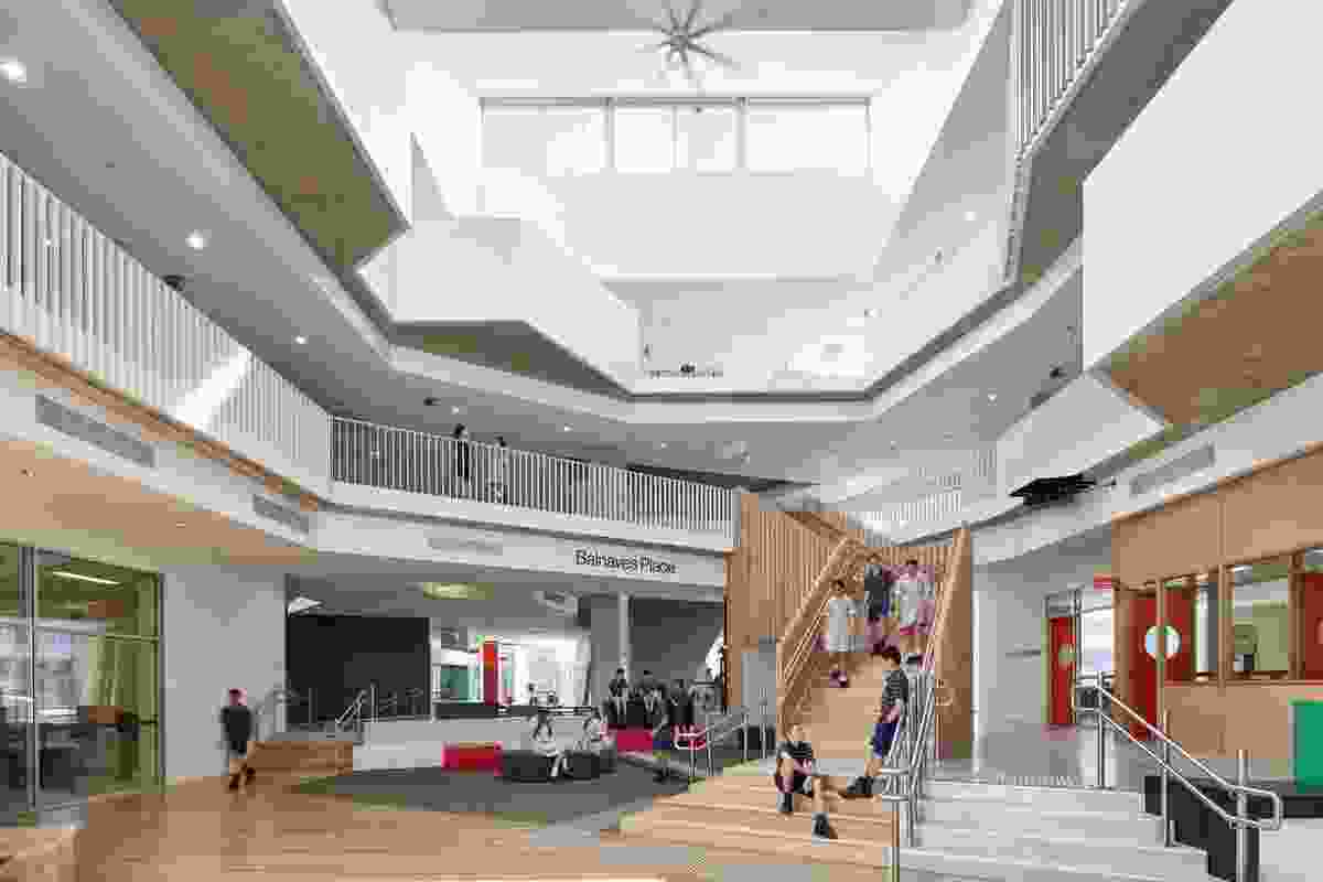 Pembroke Middle School Redevelopment by Grieve Gillett Andersen.
