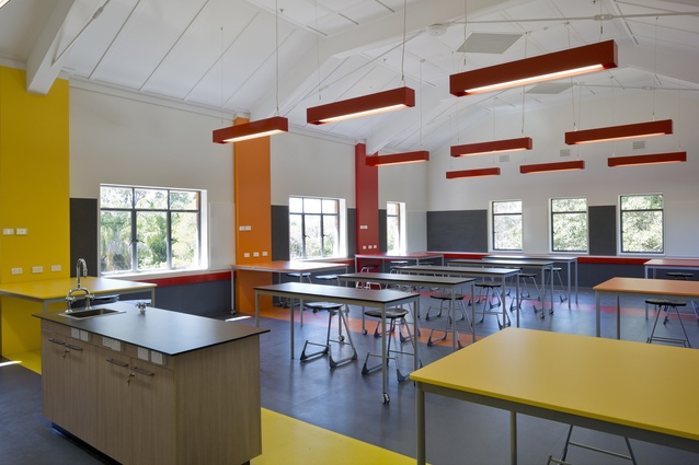 Ambrose Treacy College Stage A: Edmund Rice Building Refurbishment by Fulton Trotter Architects.