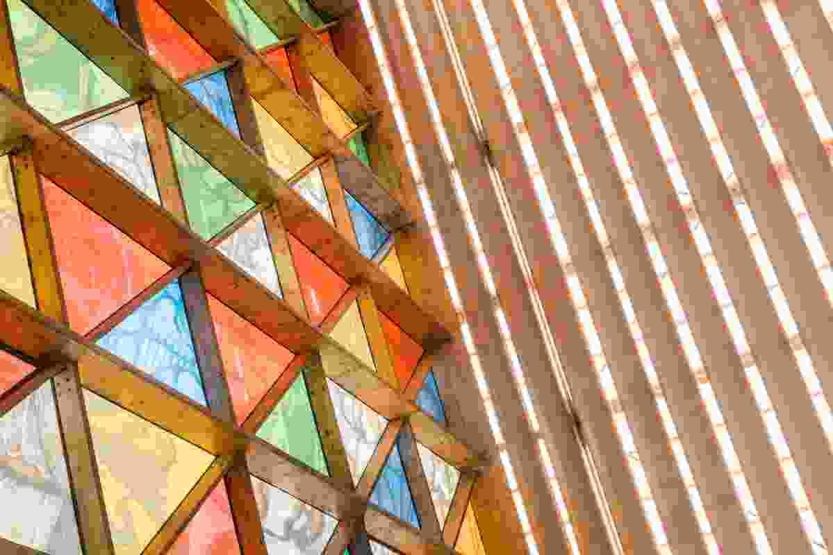 Christchurch Transitional Cathedral by Shigeru Ban Architects.