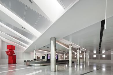 Canberra Airport – International by Guida Moseley Brown Architects.
