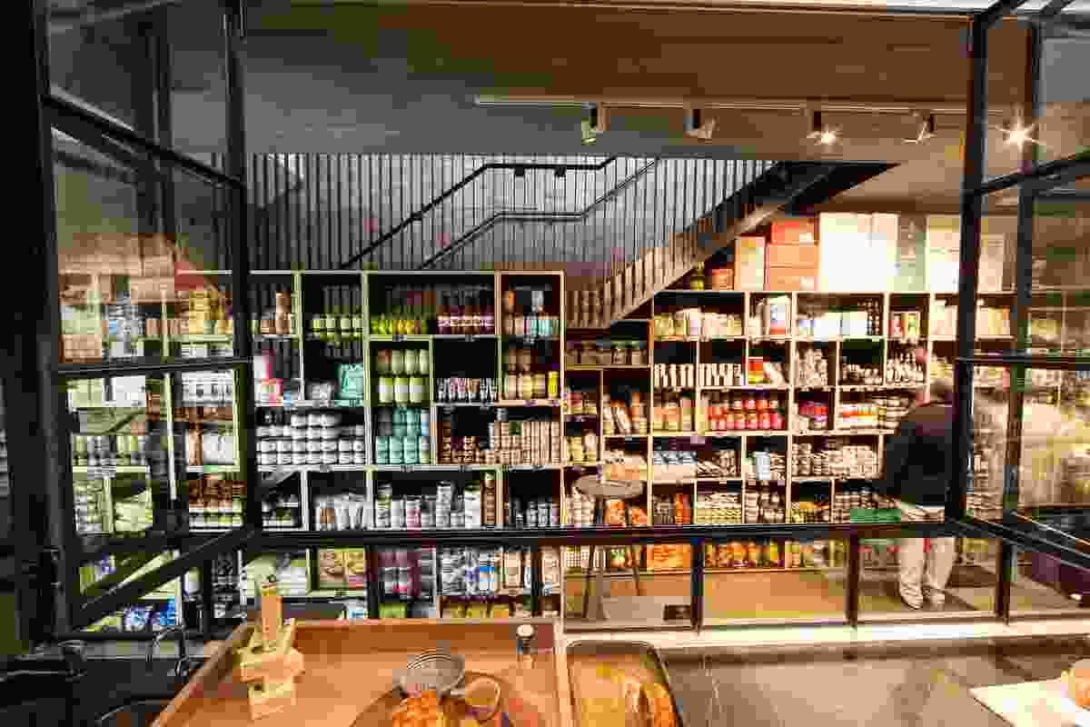 D.O.C. Delicatessen by Ridolfi Architecture.