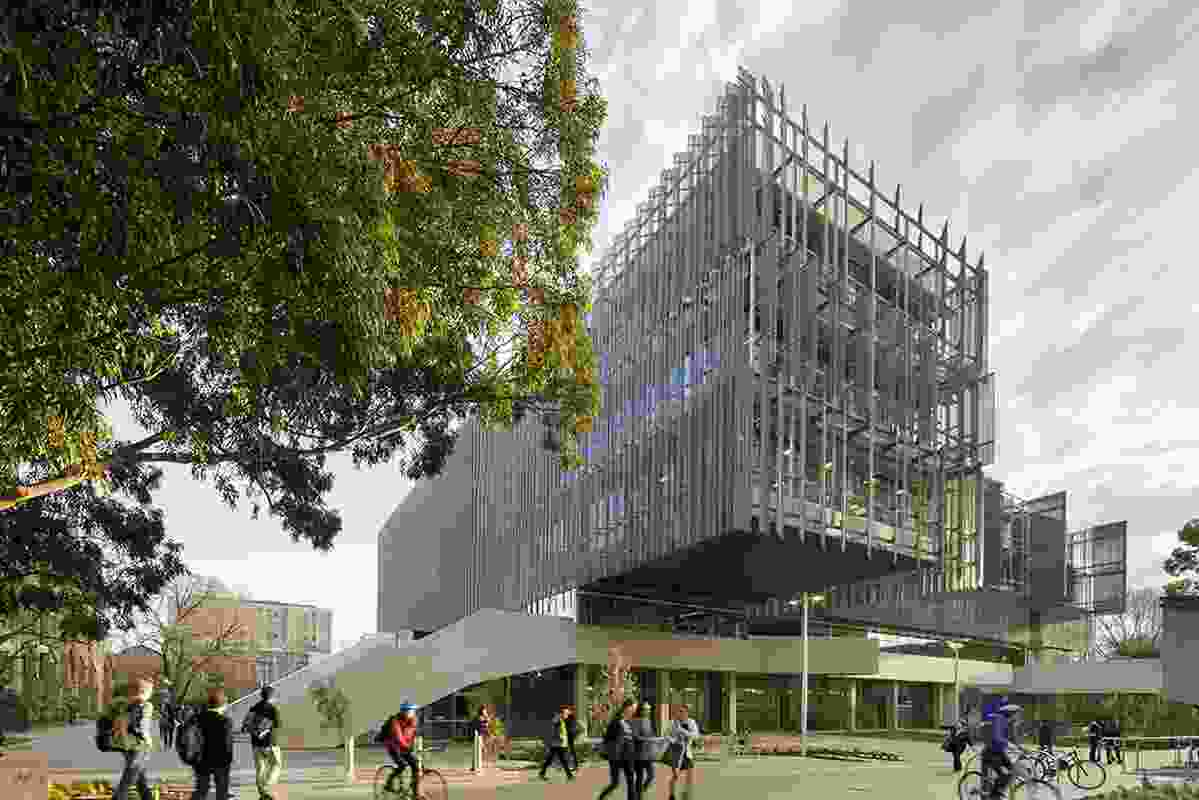 The Melbourne School of Design, University of Melbourne, by John Wardle Architects and NADAAA.