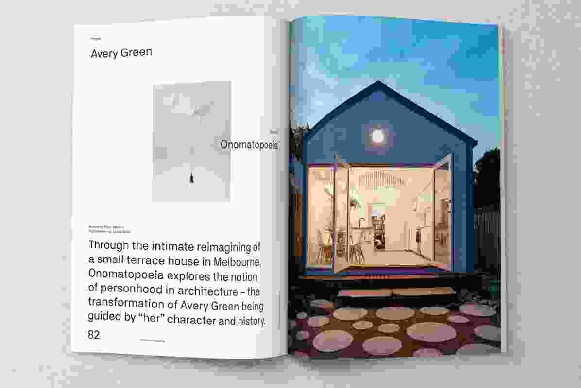 Avery Green designed by Onomatopoeia.
