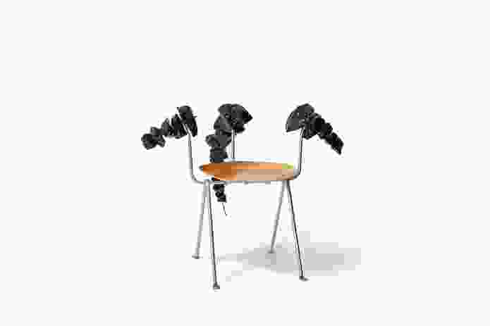 The Officina chair reinvented by Christopher Boots for Chairity Project 2016.