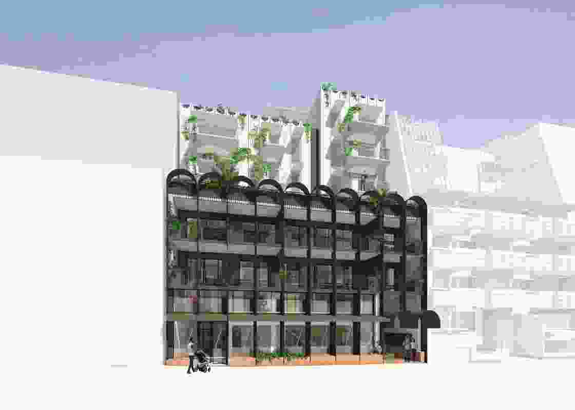 Nightingale Village at 1-3 Duckett Street by Breathe Architecture.
