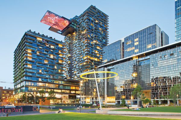 One Central Park by Ateliers Jean Nouvel and PTW Architects in Sydney has a Green Star rating of five.