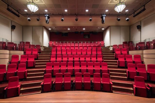 NFSA Theatrette by Cox Architecture.