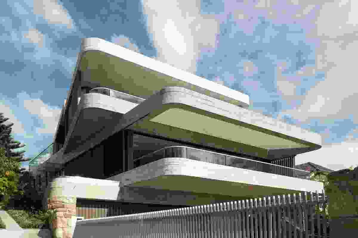 Gordons Bay House by Luigi Rosselli Architects.