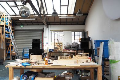 Inside Assemble's studio.
