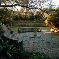 Sunken Garden designed by Oliver Dowell and George Munns.