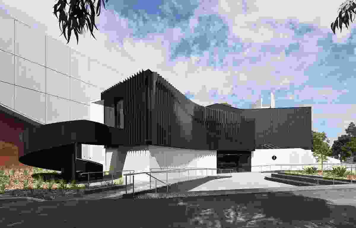 Building I Lecture Theatre, Deakin University Burwood, by Woods Bagot.