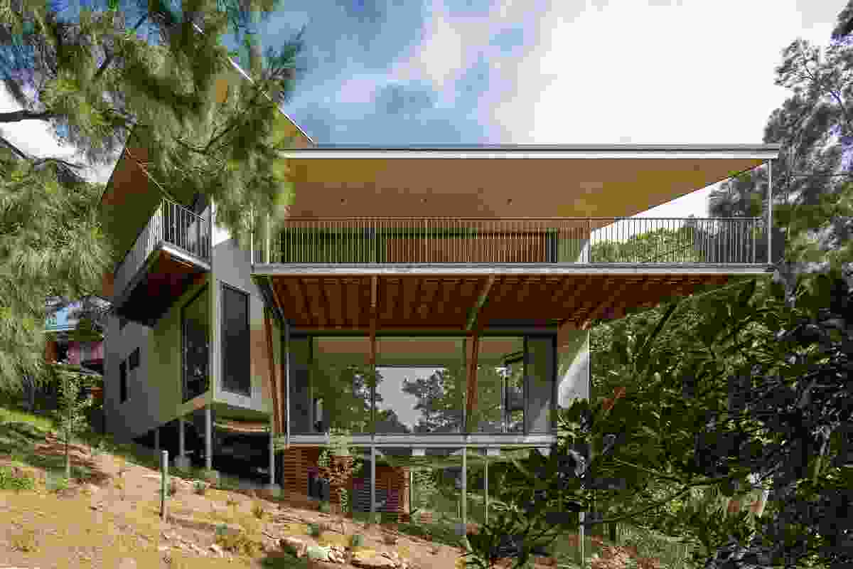 Bundeena House by RAA Architects.