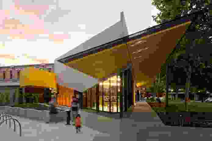 Bendigo Library by MGS Architects.