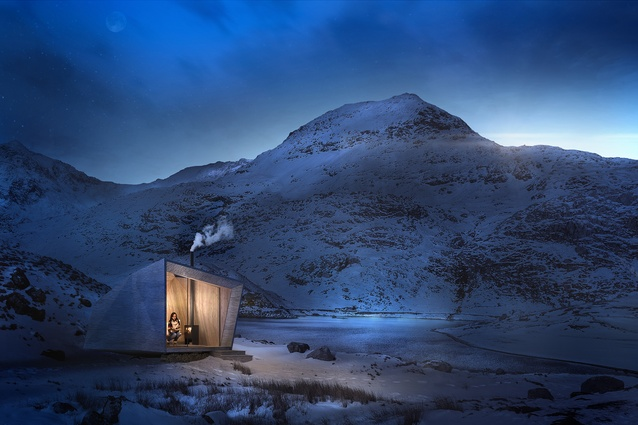 Arthur's Cave by Miller Kendrick Architects.