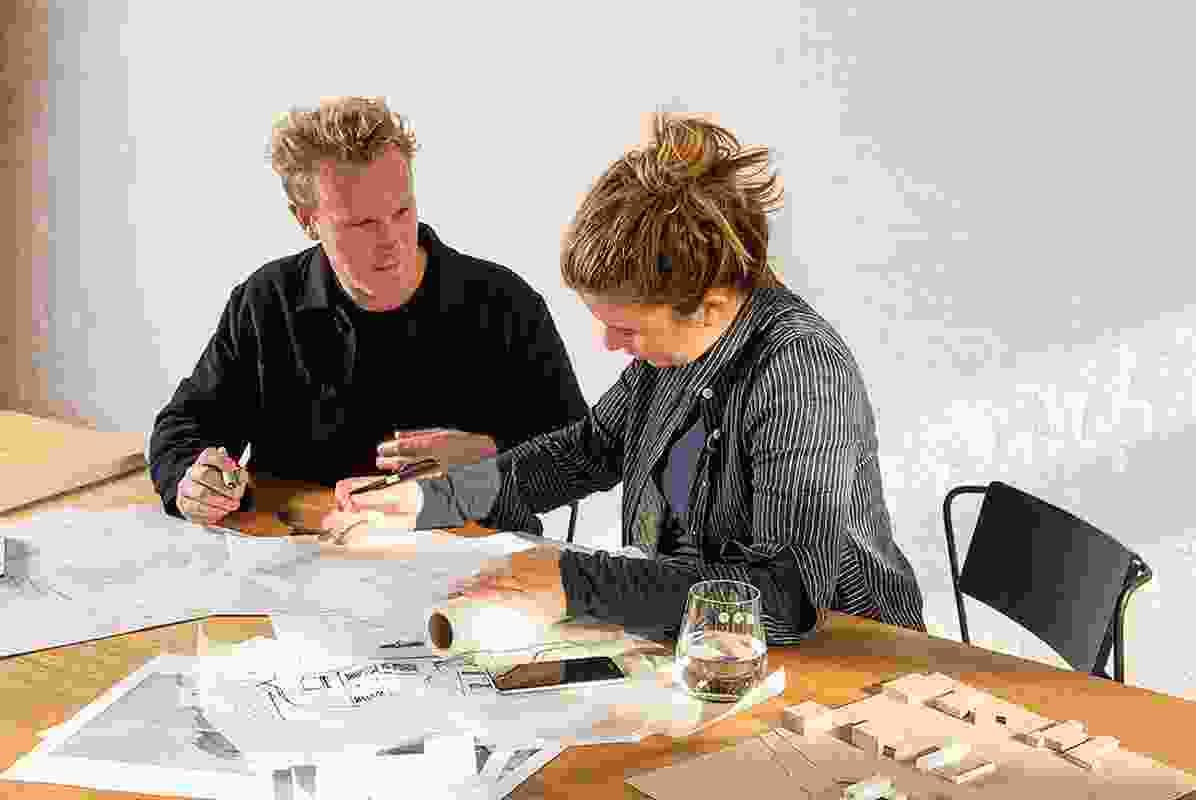 Joseph Lovell and Stephanie Burton, codirectors of Lovell Burton Architecture.