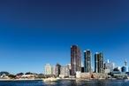 Radial trio: International Towers Sydney