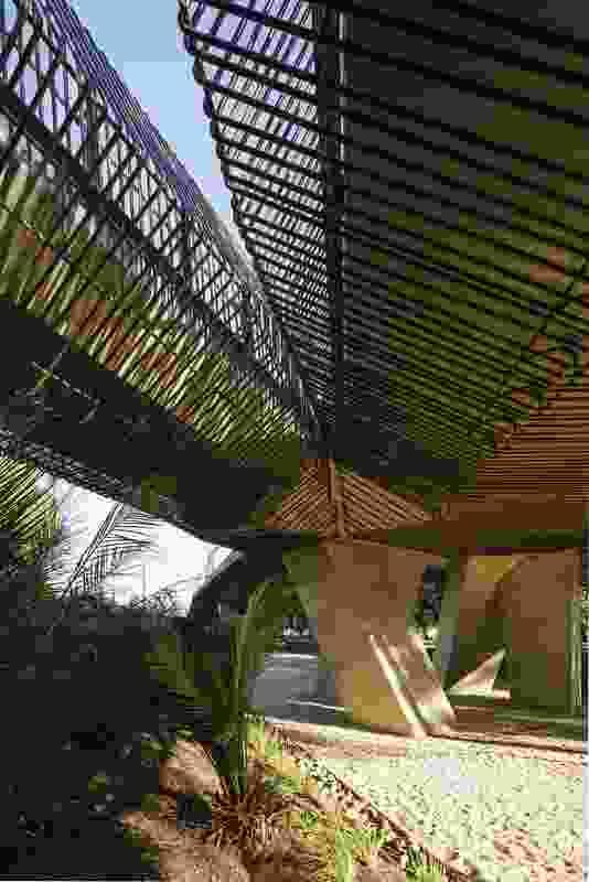 Tanderrum Bridge designed by John Wardle Architects and NADAAA.
